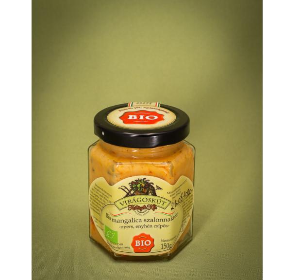 Bio mangalica szalonnakrém (enyhén csípős) - 150 g