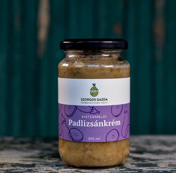 Padlizsánkrém-370 ml
