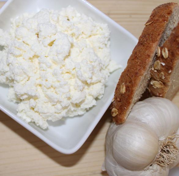 Fokhagymás sajtkrém - 20 dkg