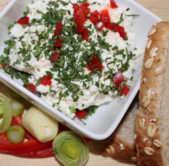 Zöldfűszeres sajtkrém - 20 dkg