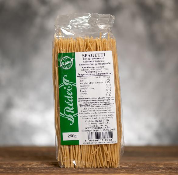 Csökkentett szénhidráttartalmú spagetti - 35 dkg