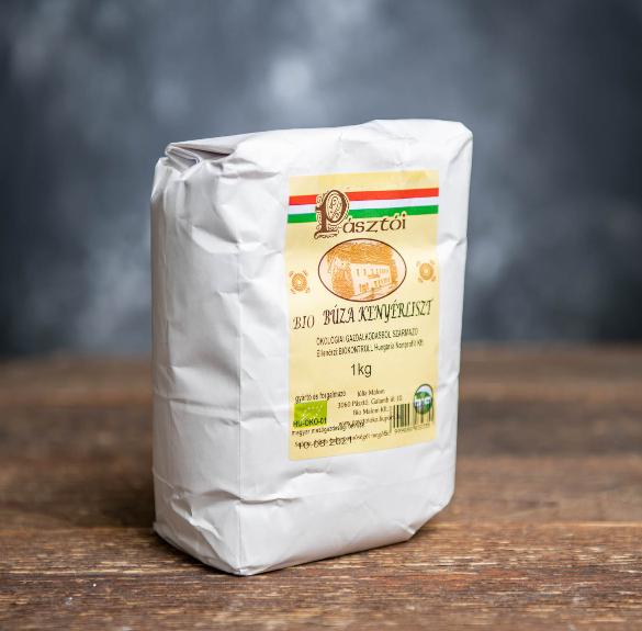 Bio búza kenyérliszt - 1 kg