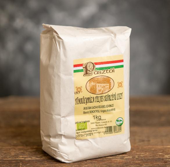 Bio teljes kiőrlésű tönkölyliszt - 1 kg