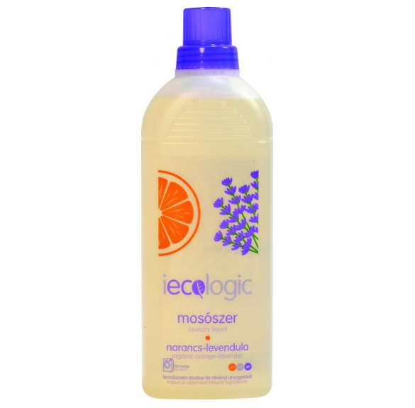 Mosószer (narancs-levendula) - 1 l