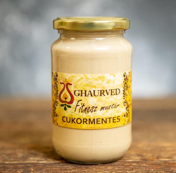 Fitness cukormentes mustár - 35 dkg