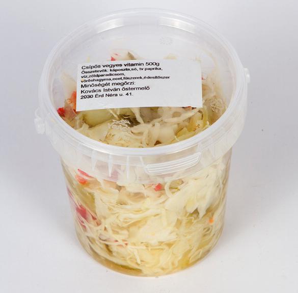 Csalamádé-csípős  (vegyes vitamin) - 50 dkg