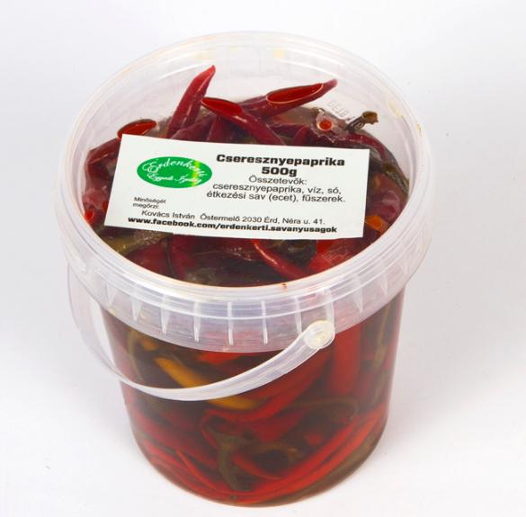Cseresznyepaprika (csípős) - 50 dkg