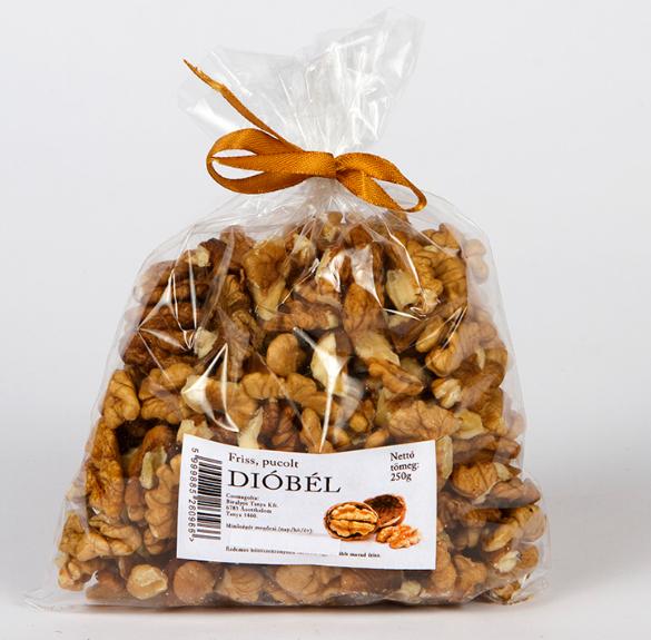Dióbél (pucolt) - 250 g
