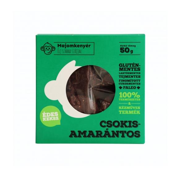 Paleo csokis-amarántos keksz - 50 g